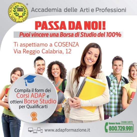 Borse di Studio Adap Cosenza